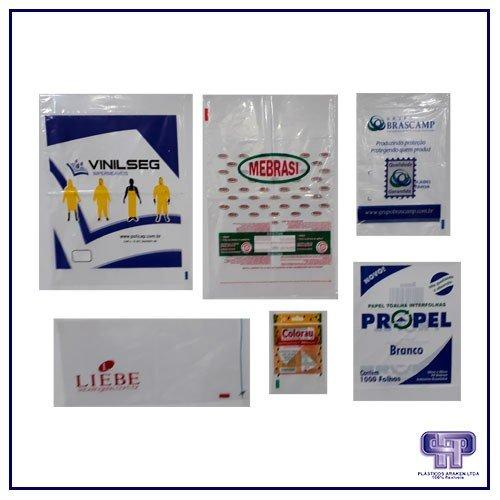 Embalagens plásticas personalizadas para alimentos