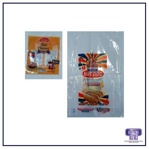 Embalagens plásticas personalizadas para doces